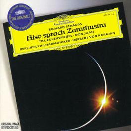 ALSO SPRACH ZARATHUSTRA -EASCHWALBE/BERLINER PHILHARMONIC/HERBERT VON KARAJAN Audio CD, R. STRAUSS, CD