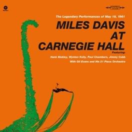 AT CARNEGIE HALL -HQ/LTD- 180GR. / INCL. BONUS TRACK MILES DAVIS, LP