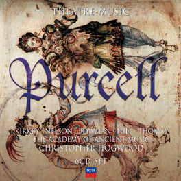THEATRE MUSIC ACADEMY OF ANCIENT MUSIC/C.HOGWOOD Audio CD, H. PURCELL, CD