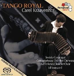 TANGO ROYAL CONCERTGEBOUW CHAMBER ORCHESTRA KRAAYENHOF/PIAZZOLLA/ALVA, CD