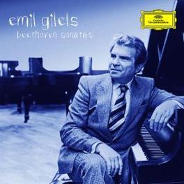 PIANO SONATAS EMIL GILELS Audio CD, L. BEETHOVEN, CD
