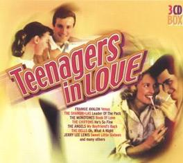 TEENAGERS IN LOVE W/MONOTONES/CHIFFONS/PLATTERS/SHIRELLES/MOONGLOWS/DELLV Audio CD, V/A, CD