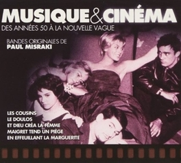 MUSIQUE & CINEMA JEAN DELANNOY/ANDRE MICHEL/PIERRE CHENAL/& OTHERS Audio CD, V/A, CD