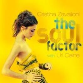 SOUL FACTOR WITH URI CAINE CRISTINA ZAVALLONI, CD