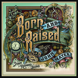 BORN AND RAISED -LP+CD- 2LP+CD IN GATEFOLD SLEEVE JOHN MAYER, LP