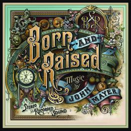 BORN AND RAISED -LP+CD- 2LP+CD IN GATEFOLD SLEEVE JOHN MAYER, Vinyl LP
