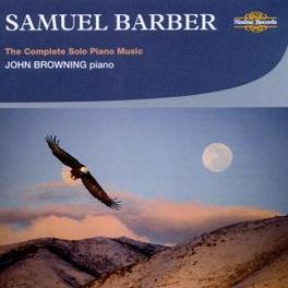 KLAVIERWERKE JOHN BROWNING Audio CD, S. BARBER, CD