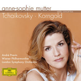 VIOLIN CONCERTOS /ANDRE PREVIN/ANNE-SOPHIE MUTTER Audio CD, TCHAIKOVSKY/KORNGOLD, CD