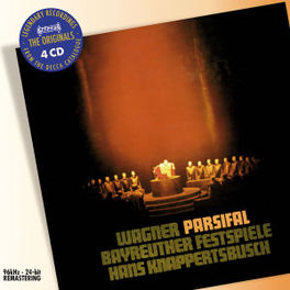 PARSIFAL ORCH.DER BAYREUTHER FESTSPIELE/HANS KNAPPERTSBUSCH Audio CD, R. WAGNER, CD