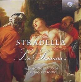 LA SUSANNA HARMONICES MUNDI/CLAUDIO ASTRONIO A. STRADELLA, CD