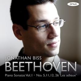 PIANO SONATAS VOL.1:NO.5, JONATHAN BISS L. VAN BEETHOVEN, CD