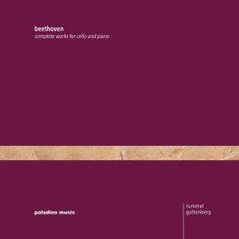 COMPLETE WORKS FOR CELLO RUMMEL/GUTTENBERGE L. VAN BEETHOVEN, CD