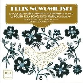 25 POLISH FOLKSONGS.. .. FROM WARRMJA Audio CD, ALCHIMOWICZ-WOJCIK & ZOLN, CD