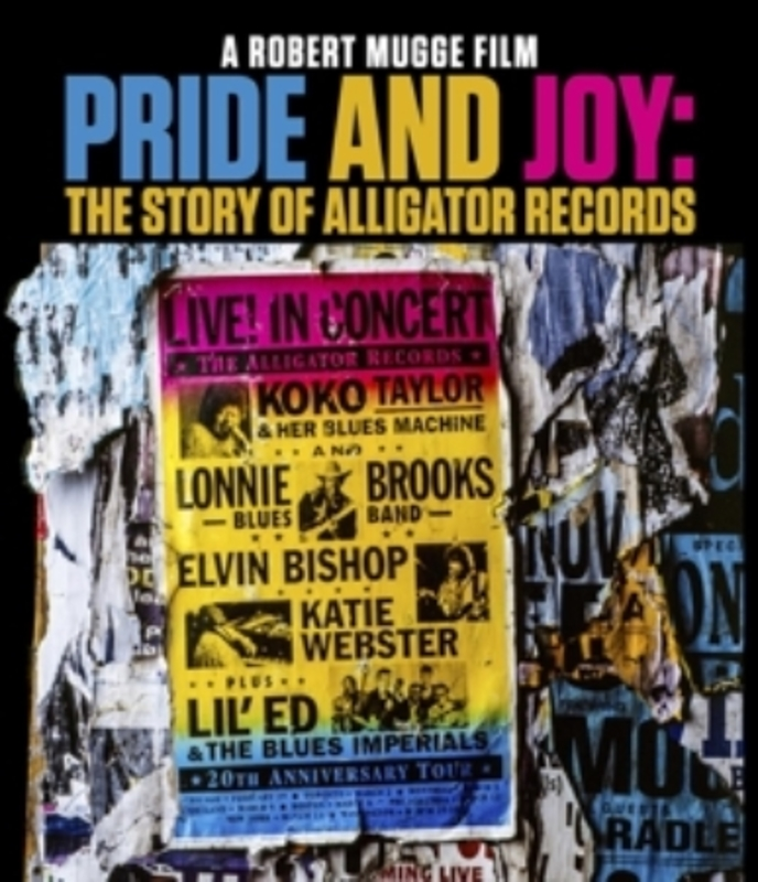 PRIDE AND JOY THE STORY OF ALLIGATOR RECORDS. DOCUMENTARY, Blu-Ray