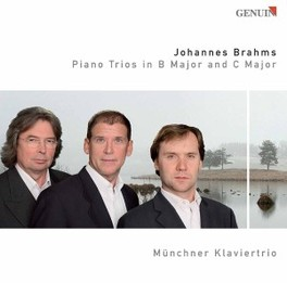 PIANO TRIOS IN B MAJOR & MUNCHNER KLAVIERTRIO Audio CD, J. BRAHMS, CD