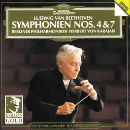 SYMPHONIES 4 & 7 BP/KARAJAN Audio CD, L. VAN BEETHOVEN, CD