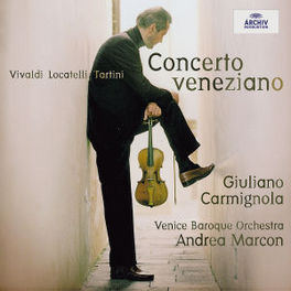 CONCERTO VENEZIANO VENICE BAROQUE ORCHESTRA/ANDREA MARCON Audio CD, GIULIANO CARMIGNOLA, CD