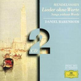 LIEDER OHNE WORTE W/DANIEL BARENBOIM-PIANO Audio CD, MENDELSSOHN-BARTHOLDY, F., CD
