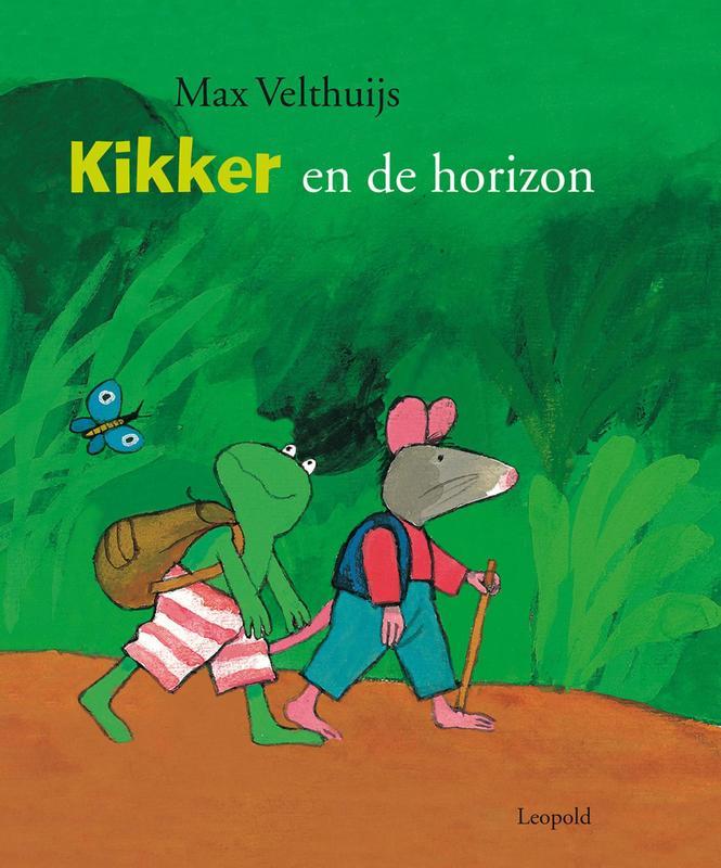 Kikker en de horizon Max Velthuijs, Hardcover
