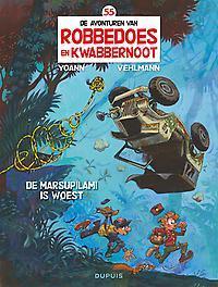ROBBEDOES & KWABBERNOOT 55. DE MARSUPILAMI IS WOEST ROBBEDOES & KWABBERNOOT, YOANN, VEHLMANN, FABIEN, Paperback