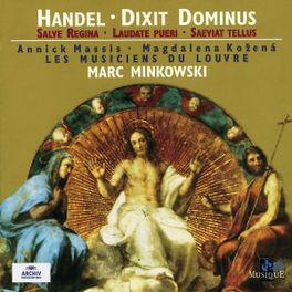 DIXIT DOMINUS MUSICIENS DU LOUVRE/MINKOWSKI Audio CD, G.F. HANDEL, CD