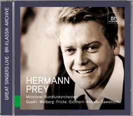 GREAT SINGER LIVE MUNCHNER RUNDFUNKORCHESTER/WALLBERG/FRICKE HERMANN PREY, CD