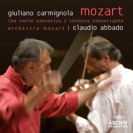 VIOLIN CONCERTOS GIULIANO CARMIGNOLA//CLAUDIO ABBADO Audio CD, W.A. MOZART, CD