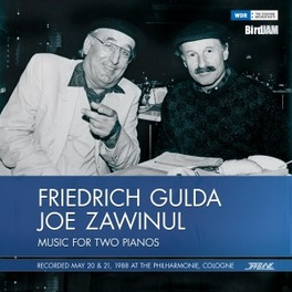 MUSIC FOR TWO PIANOS.. .. COLPGME '88/ & OE ZAWINUL GULDA, FRIEDRICH & JOE ZA, Vinyl LP