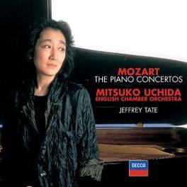 PIANO CONCERTOS *BOX* W/MITSUKO UCHIDA, JEFFREY TATE Audio CD, W.A. MOZART, CD