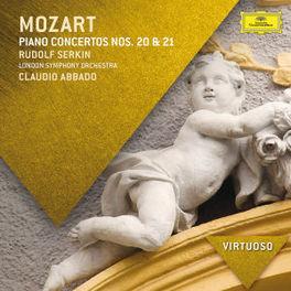 PIANO CONCERTOS NO.20 & 2 LONDON SYMPHONY ORCHESTRA/CLAUDIO ABBADO W.A. MOZART, CD