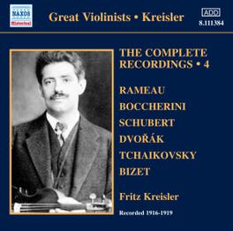 COMPLETE RECORDINGS VOL.4 WARD MARSTON F. KREISLER, CD