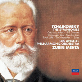 SYMPHONIES *BOX* LOS ANGELES P.O./ZUBIN MEHTA Audio CD, P.I. TCHAIKOVSKY, CD