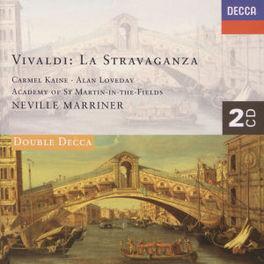 LA STRAVAGANZA 12 CONCERT KAINE LOVEDAY ASMIF MARRINER Audio CD, A. VIVALDI, CD