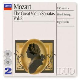 GREAT VIOLIN SONATAS V.2 UCHIDA/ECO/TATE Audio CD, W.A. MOZART, CD