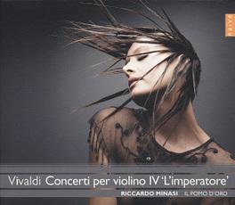 CONCERTI PER VIOLINO IV IL COMPLESSO BAROCCO/RICCARDO MINASI A. VIVALDI, CD