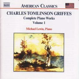 COMPLETE PIANO WORKS VOL. MICHAEL LEWIN C.T. GRIFFES, CD