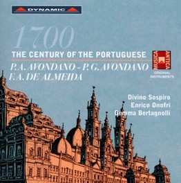 1700 THE CENTURY OF THE P DIVINO SOSPIRO AVONDANO/DE ALMEIDA, CD