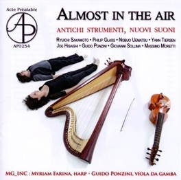 ALMOST IN THE AIR MG INC DUO, CD