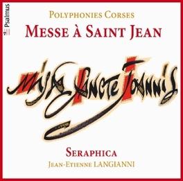 MESSE A SAINT JEAN/POLYPH SERAPHICA J.E. LANGIANNI, CD