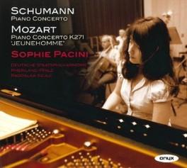 PIANO CONCERTOS DEUTSCHE STAATSPHILHARMONIE/R.SZULC SCHUMANN/MOZART, CD