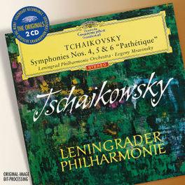 SYMPHONIES NO.4 & 5 LENINGRAD P.O./EVGENY MRAVINSKY Audio CD, P.I. TCHAIKOVSKY, CD