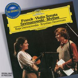 VIOLIN SONATA/MYTHE W/KAJA DANCOWSKA, KRYSTIAN ZIMERMAN Audio CD, FRANCK/SZYMANOWSKI, CD