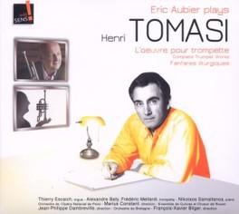 L'OEUVRE POUR TROMPETTE ERIC AUBIER H. TOMASI, CD