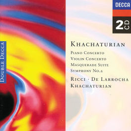 KONZERT FUER KLAVIER & VI VARIOUS ORCH./FISTOULARIKHATCHATURIAN Audio CD, A. KHACHATURIAN, CD