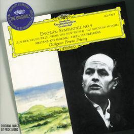 NEW WORLD/MOLDAU/PRELUDES BERLIN P.O., RSO BERLIN/FRICSAY Symphonie Nr. 9 e-moll op. 95: Aus der Neuen Welt, Die Moldau aus: Mein Vaterland, Les Preludes, DVORAK/SMETANA/LISZT, CD