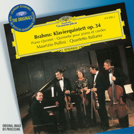 PIANO QUINTET W/QUARTETTO ITALIANO/POLLINI Audio CD, J. BRAHMS, CD