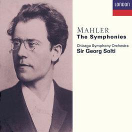 SYMPHONY NO.1-9 BUCHANAN TE KANAWA CHICAGO SO SOLTI Audio CD, G. MAHLER, CD