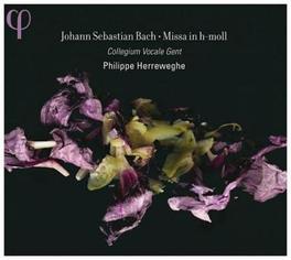MISSA IN H-MOLL COLLEGIUM VOCALE GENT/PHILIPPE HERREWEGHE J.S. BACH, CD