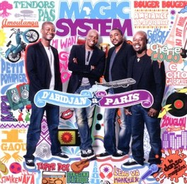 D'ABIDJAN A PARIS MAGIC SYSTEM, CD