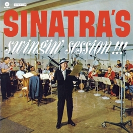 SINATRA'S SWINGIN'.. -HQ- .. SESSION!!! 180 GR. +1 BONUS TRACK FRANK SINATRA, LP